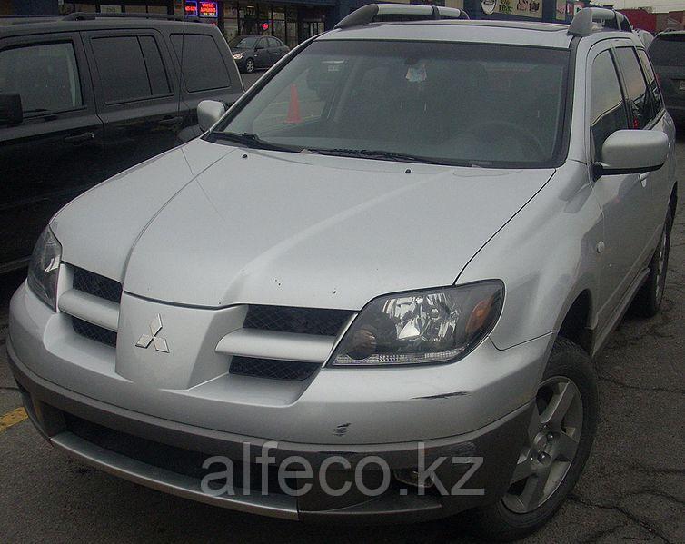 Защита картера и КПП  Mitsubishi Outlander 2003-2007 2,5 (2 части)
