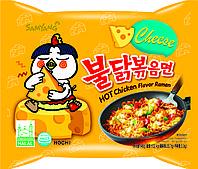 """Лапша быстрого приготовления """"Острая курица"""" в пачке со вкусом сыра (в ассортименте)"""