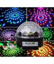 """Диско-шар с mp3 """"Led Magic Ball Light"""" 6 цветов"""