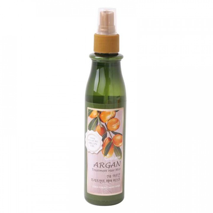 Мист для волос Welcos Confume Argan Treatment Hair Mist 200 ml. Green