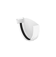 Заглушка желоба левая D120мм