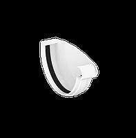 Заглушка желоба правая D120мм