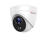 Купольная HD-TVI видеокамера HiWatch DS-T213