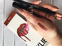 Набор матовая помада Kylie Rouge и карандаш Lip Kit от Kylie Jenner оттенок Candy K