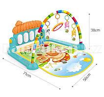 Развивающий коврик-пианино для малышей Piano Fitness Rack со звуковыми эффектами HE0639