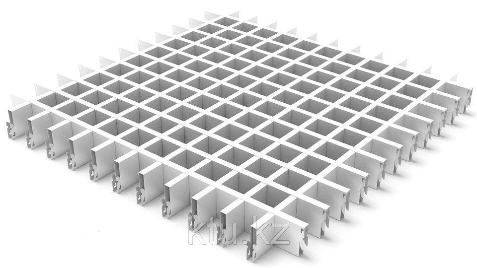 Подвесной потолок Албес Грильято 100х40х10 Металлик 1200