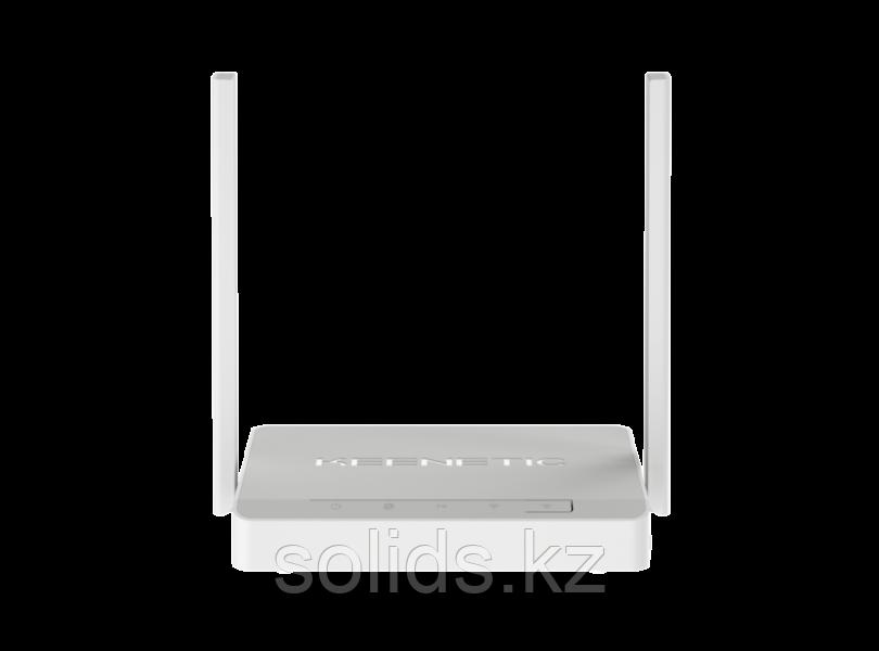 KEENETIC DSL Интернет-центр для линий VDSL2/ADSL2+ с Wi-Fi N300 усилителями приема USB