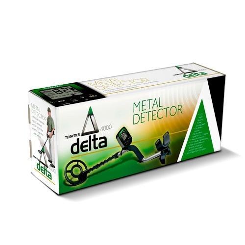 Грунтовый металлоискатель продвинутого уровня Teknetic Delta 11DD
