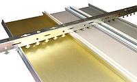 Реечный потолок A100AS Decor жемчуг с полос 4м