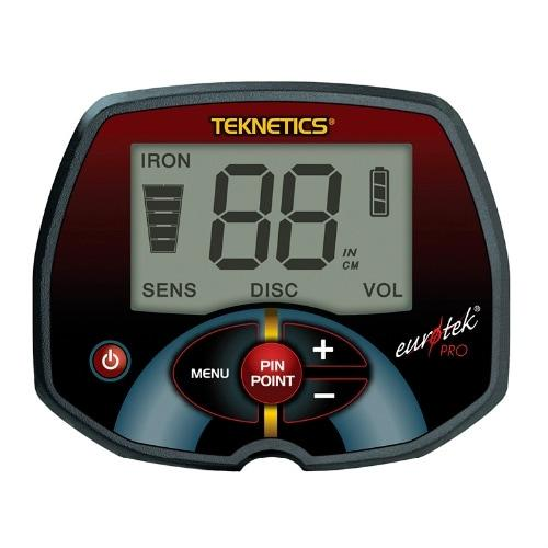 Грунтовый металлоискатель продвинутого уровня Teknetic Eurotek Pro