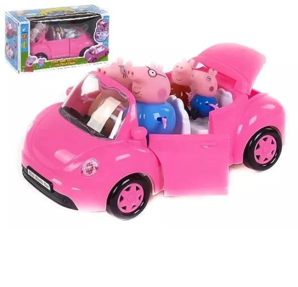 Игровой набор Машина семьи Пеппы автомобиль трансформер ...