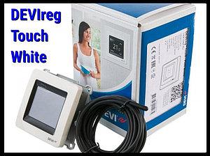 Сенсорный терморегулятор DEVIreg Touch White