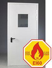 """Двери противопожарные однопольные """"ДМП EI60"""" с остеклением ширина до 1150 мм."""