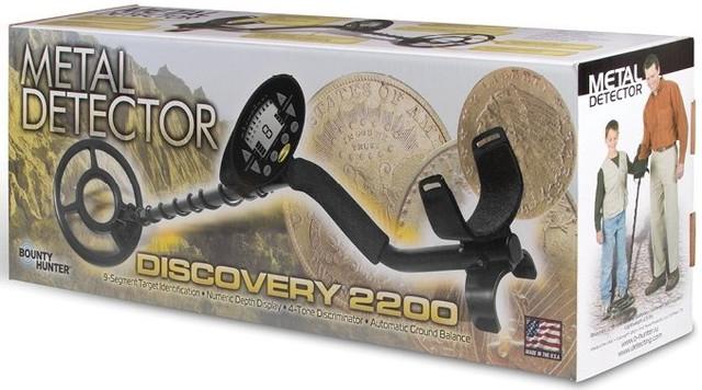 Металлоискатель Bounty Hunter Discovery 2200 грунтовый