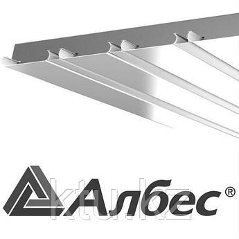 Подвесной Потолок Армстронг Рейка A100AS Decor белый мат 3м