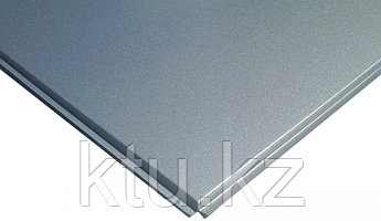 Кассетный потолок Албес металлик алюминий