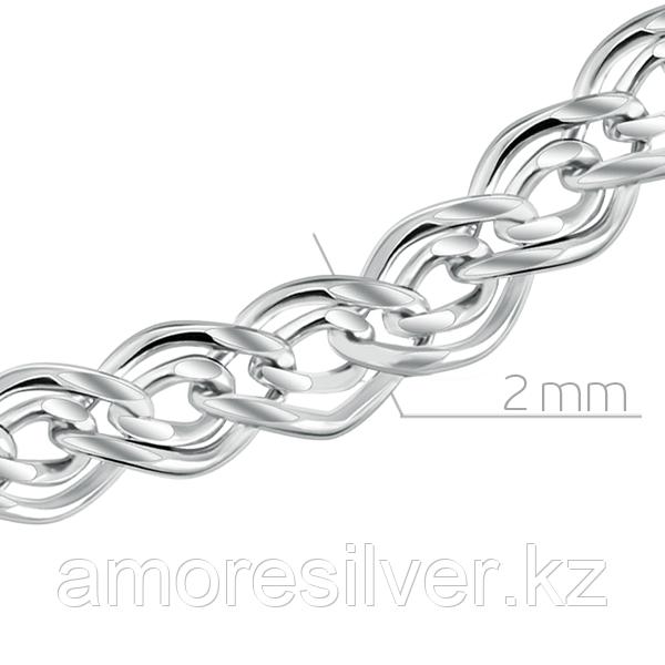 Серебряная цепь Бронницкий ювелир размеры 70  81080500170