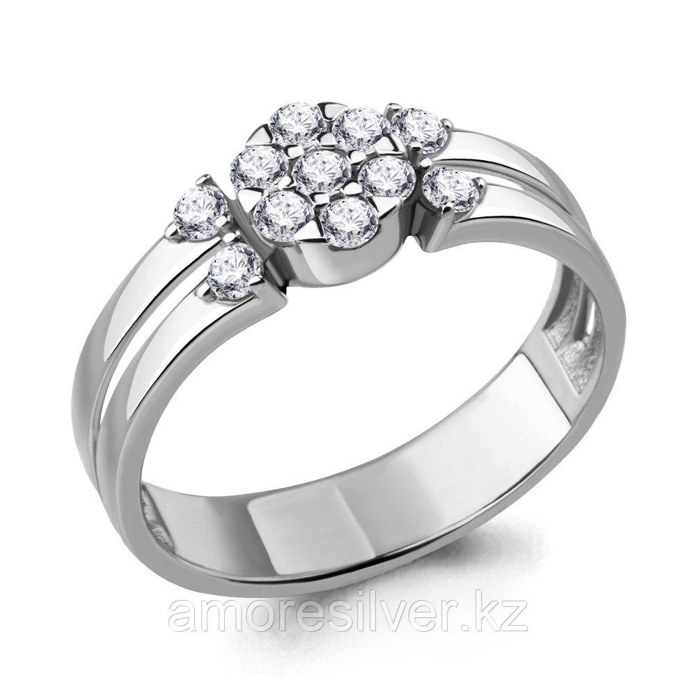Кольцо из серебра с фианитом  Aquamarine 68528А