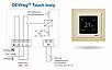 Сенсорный терморегулятор DEVIreg Touch Ivory, фото 5