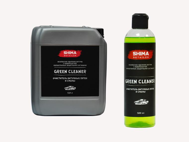 Очистители кузова  SHIMA DETAILER  GREEN CLEANER