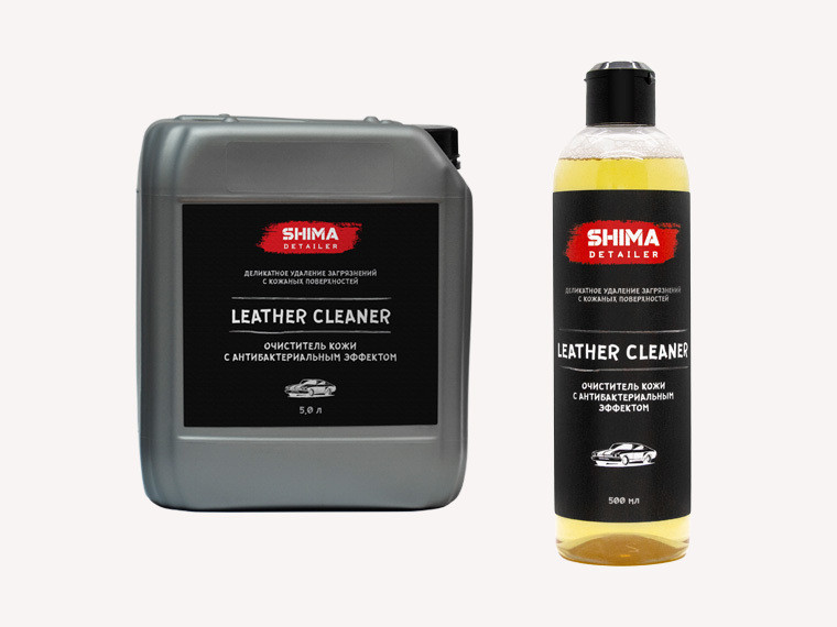 Очистка и уход за салоном SHIMA DETAILER  LEATHER CLEANER