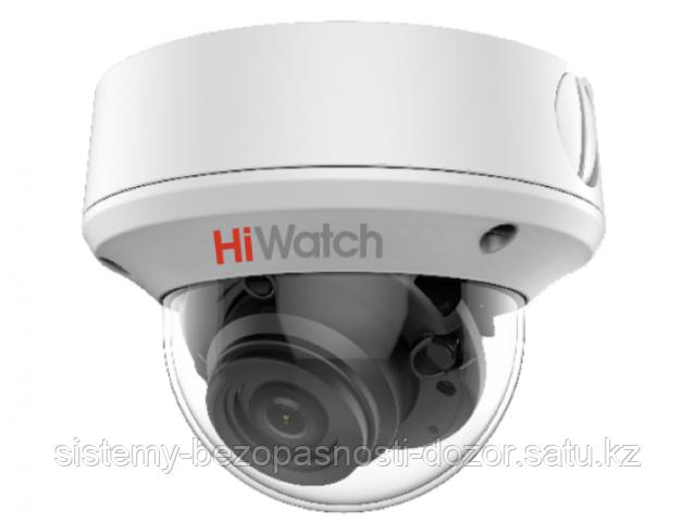 Купольная HD-TVI видеокамера HiWatch DS-T208S