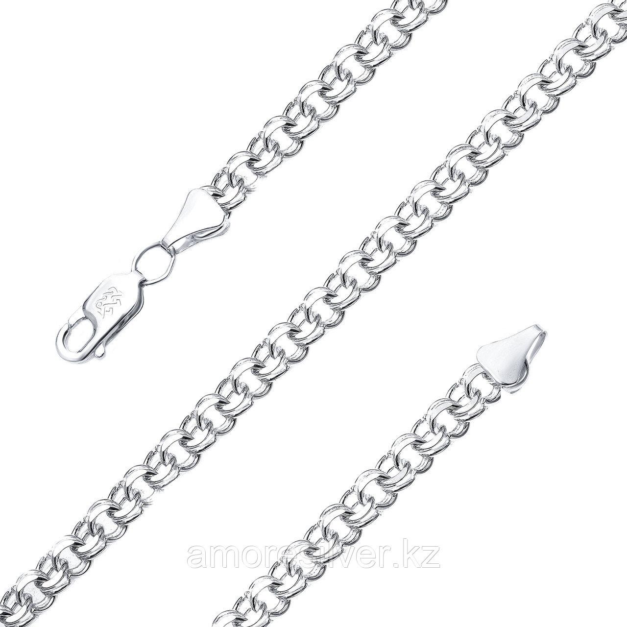 Браслет Адамант серебро с родием, без вставок Ср925Р-107009021