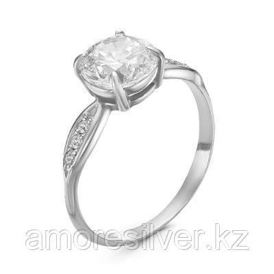 Кольцо из серебра с фианитом  Красная Пресня 23810162Д