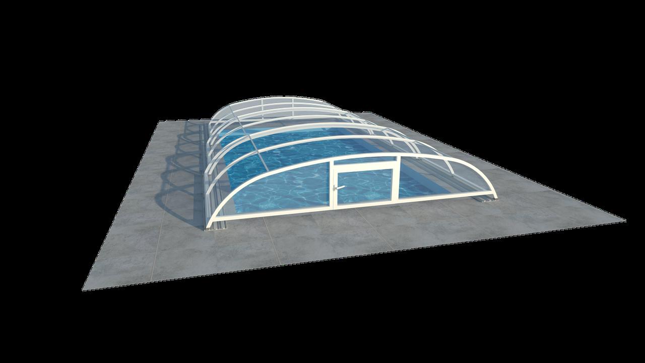 Павильон для бассейна из поликарбоната CARLA