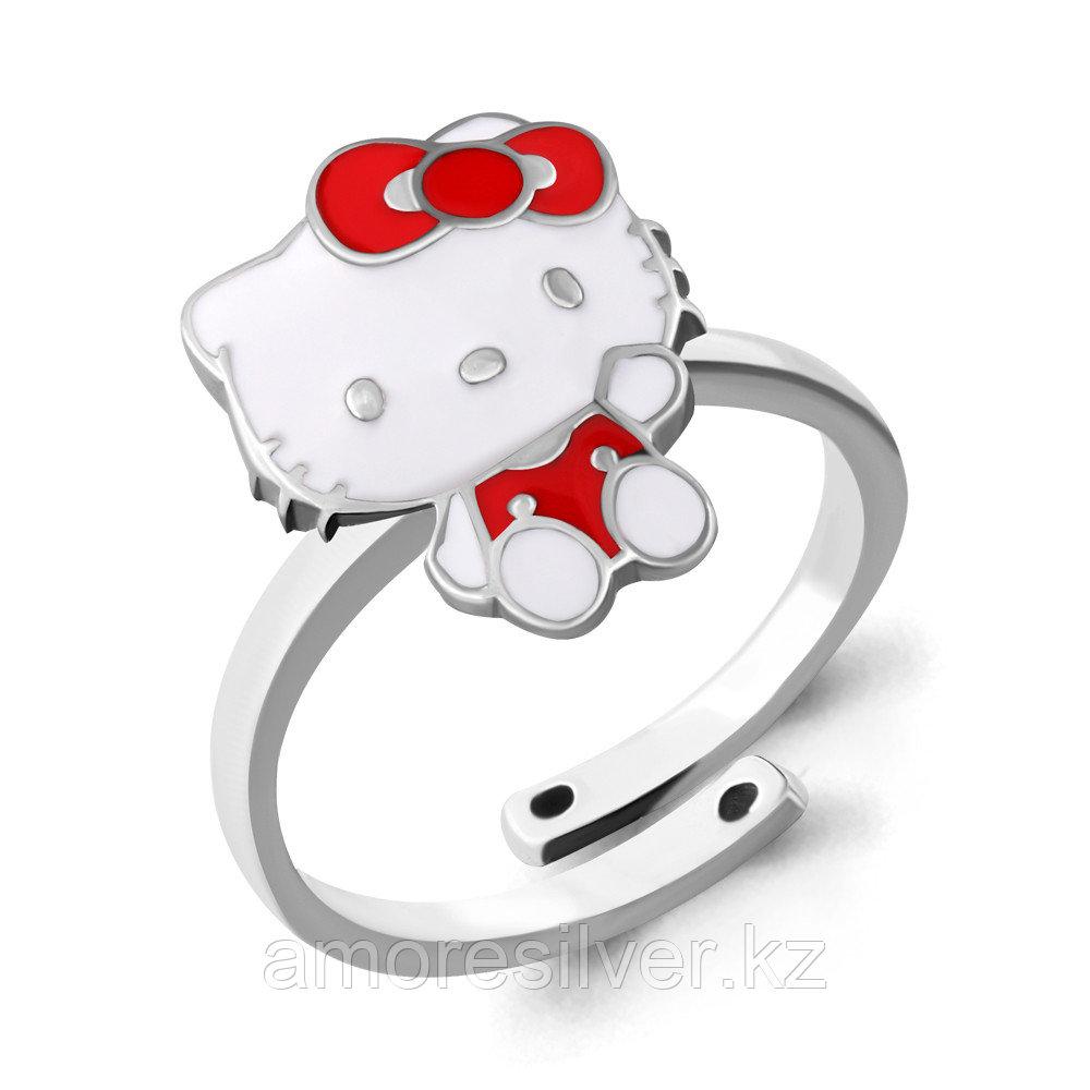 Кольцо Aquamarine серебро с родием, без вставок,  54633