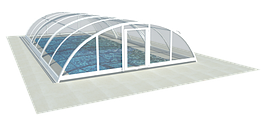 Павильон для бассейна из поликарбоната ULTRACLASSIC