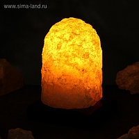 """Соляная лампа """"Гора"""" цельный кристалл, 18 см × 13,5 см × 13,5 см, 1-2 кг"""