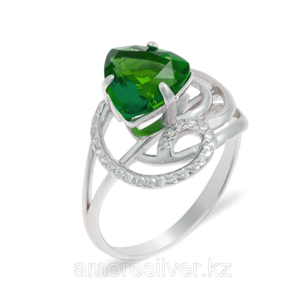 Серебряное кольцо с алпанитом  Teosa 10-040-ЕМС