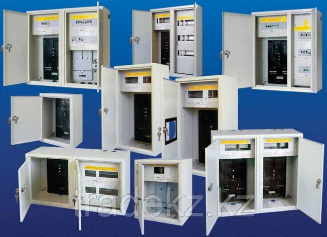 Бокс с прозрачной крышкой КМПн 2/4 для 4-х автоматических выключателей (Дуб) IEK, фото 2