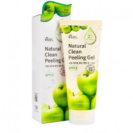 Ekel Natural Clean Peeling Gel Apple Пилинг-Скатка с Экстрактом Зеленого Яблока 180гр.