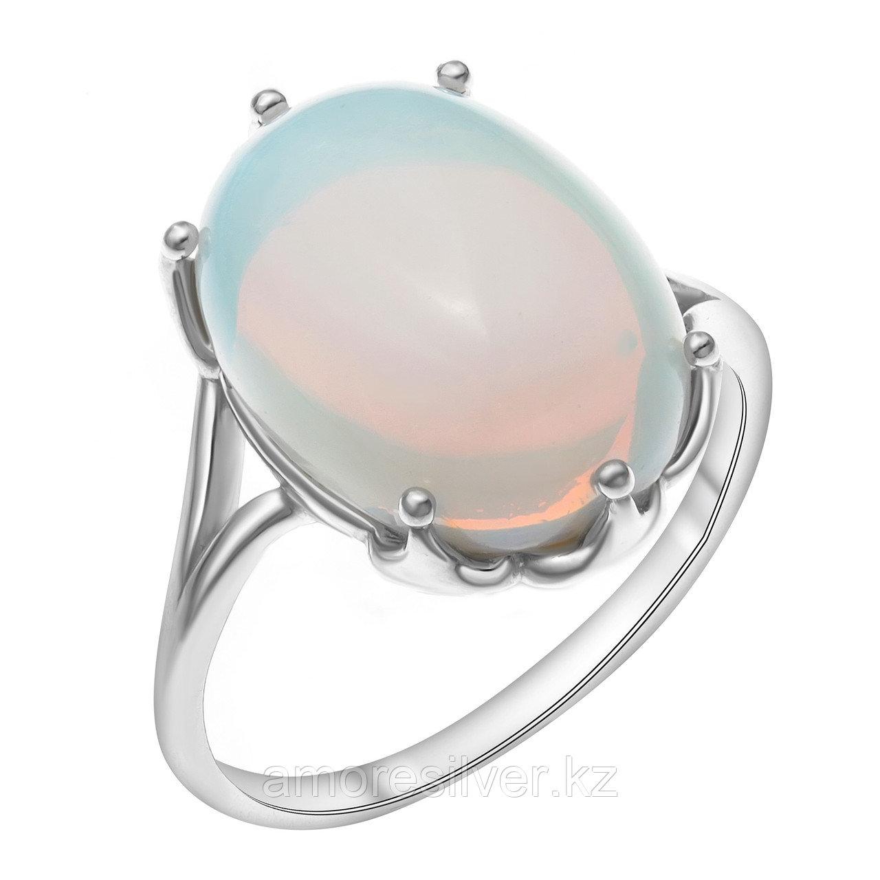 Серебряное кольцо с лунным камнем  Приволжский Ювелир 251212-MNS