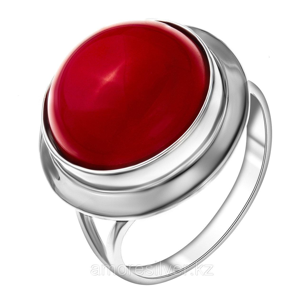 Серебряное кольцо с кораллом  Приволжский Ювелир 231240-CRL