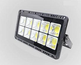 Светодиодный RGB прожектор FL-500W, 220V с ПДУ, IP66