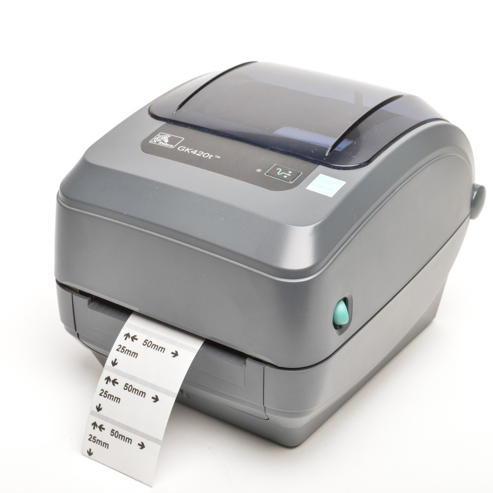 Принтер этикеток термотрансферный ZEBRA GK420t
