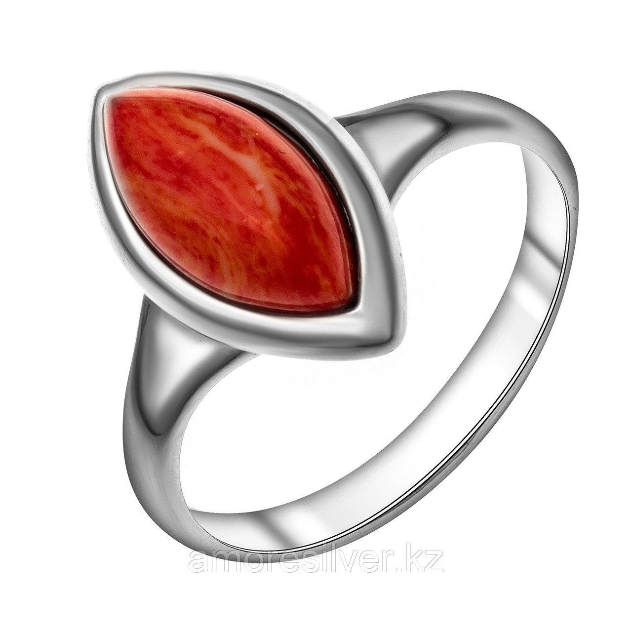 Кольцо из серебра с кораллом Darvin 18  920081073aa размеры - 17,5
