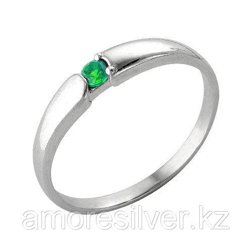 Кольцо из серебра с шпинелью синт. и фианитом цветным  Красная Пресня 2386394Д7