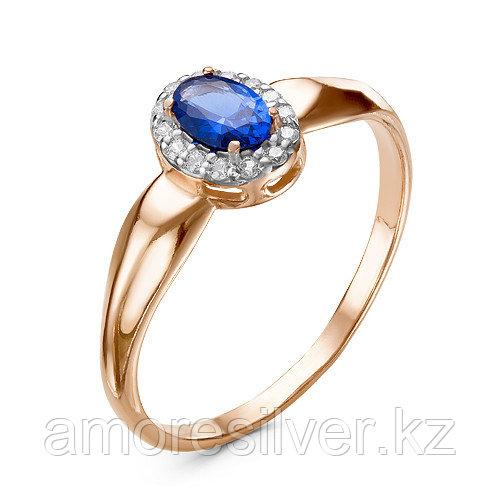 Кольцо из серебра с фианитом и шпинелью  Красная Пресня 23810223Д3