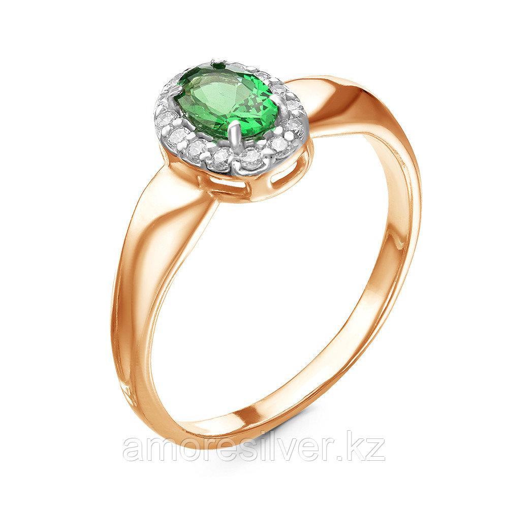 Кольцо из серебра с фианитом и шпинелью  Красная Пресня 23810223Д7