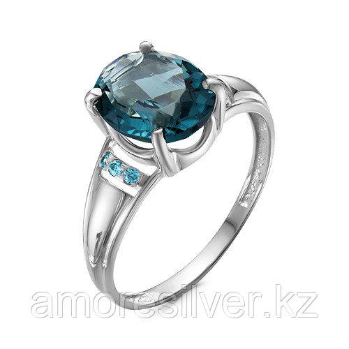 Кольцо из серебра с фианитом  Teosa 1000-0206-RB-r