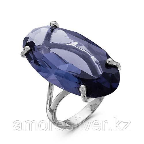 Серебряное кольцо с ситаллом и нано ситаллом  Красная Пресня 2377406Д9