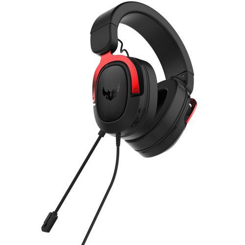 Asus TUF Gaming H3 Red наушники (90YH02AR-B1UA00) - фото 3