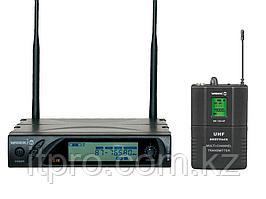 Беспроводной петличный микрофон WORK WRD 1100 AF/2, 99 каналов УВЧ