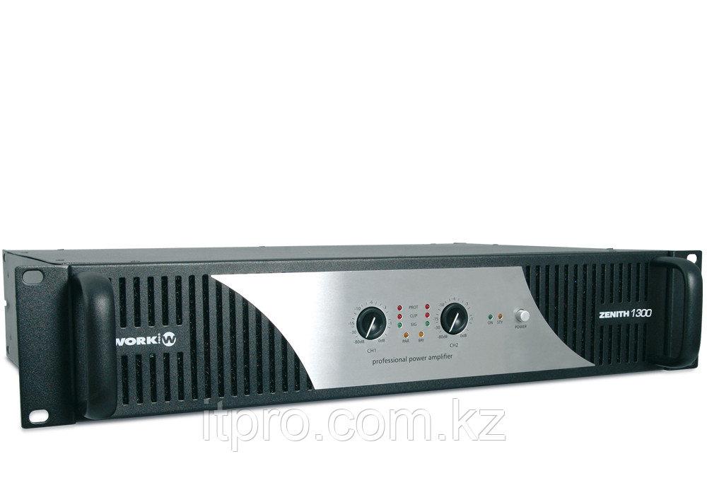 Стерео усилитель Work Zenith 1300, 2x310Вт(8Ом)