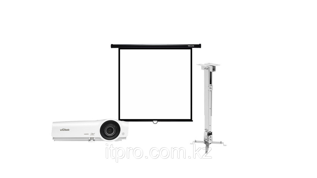 Комплект Vivitek DX263 + экран Deluxe DLS-M180x