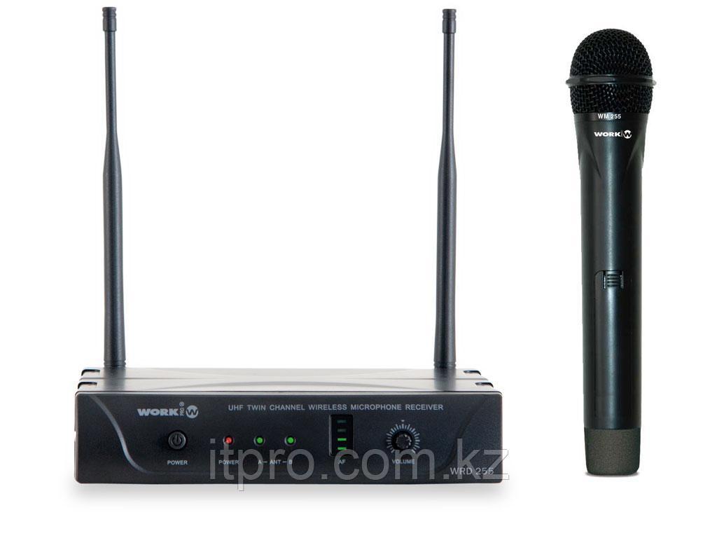 Беспроводной микрофон WORK WRD 255/1, 1 канал UHF